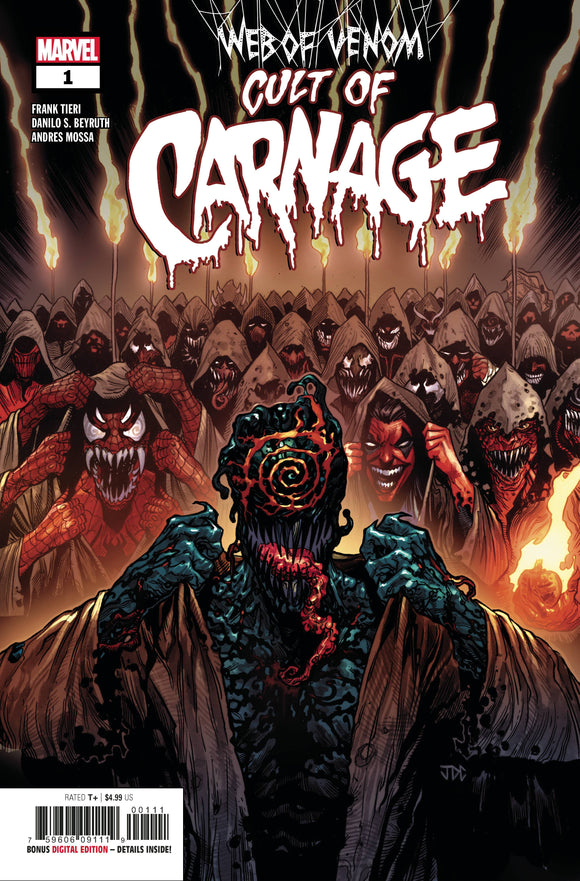 WEB OF VENOM CULT OF CARNAGE #1 CVR A BACKISSUE