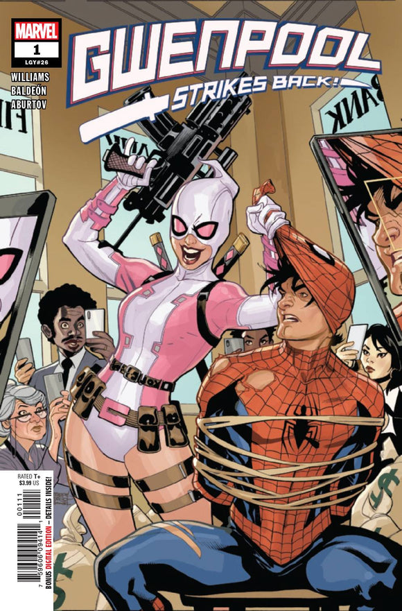 GWENPOOL STRIKES BACK #1 (OF 5) BACKISSUE