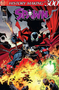 SPAWN #300 CVR C CAPULLO BACKISSUE