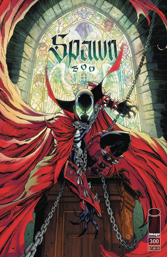 SPAWN #300 CVR G CAMPBELL BACKISSUE