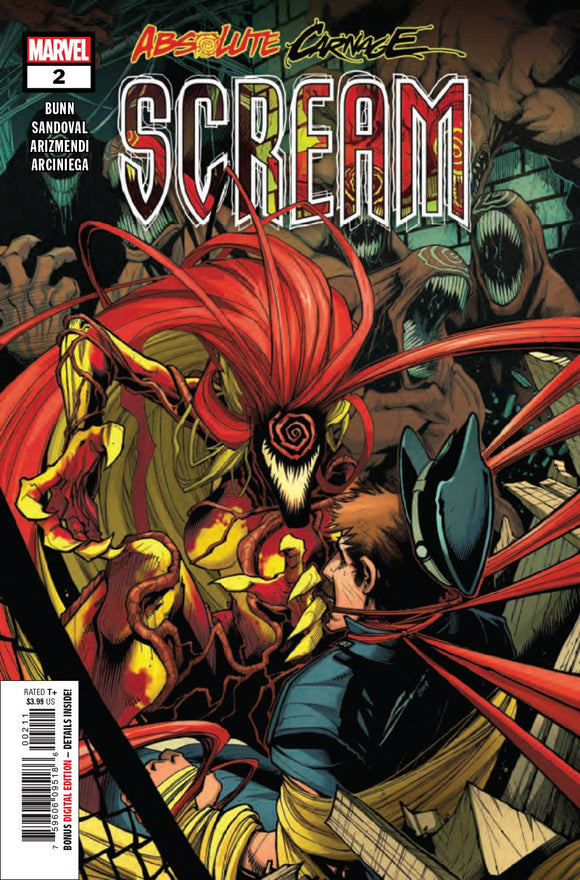 ABSOLUTE CARNAGE SCREAM #2 (OF 3) AC BACKISSUE