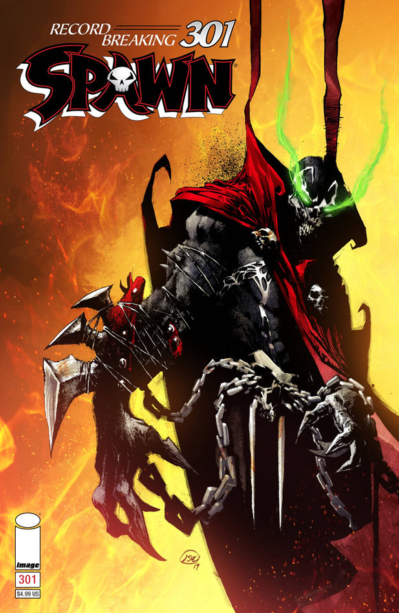 SPAWN #301 CVR D ALEXANDER BACKISSUE