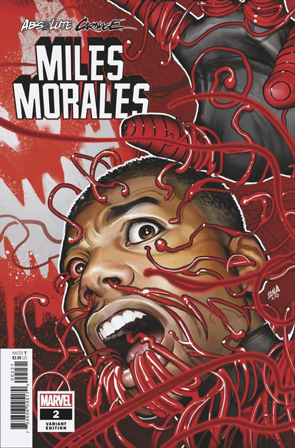ABSOLUTE CARNAGE MILES MORALES #2 (OF 3) CONNECTING VAR AC BACKISSUE