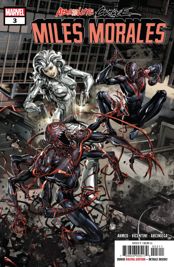 ABSOLUTE CARNAGE MILES MORALES #3 (OF 3) AC BACKISSUE