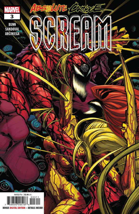 ABSOLUTE CARNAGE SCREAM #3 (OF 3) AC BACKISSUE