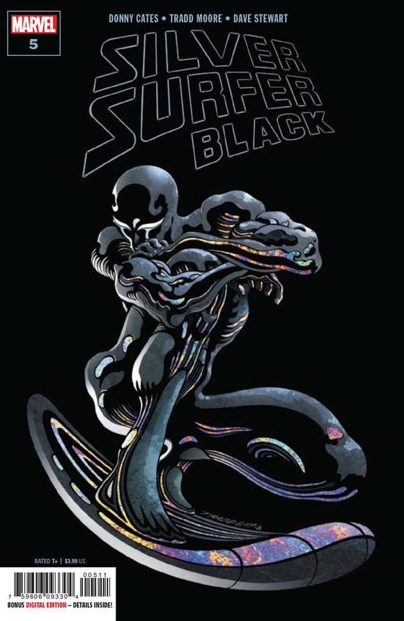 SILVER SURFER BLACK #5 (OF 5) BACKISSUE