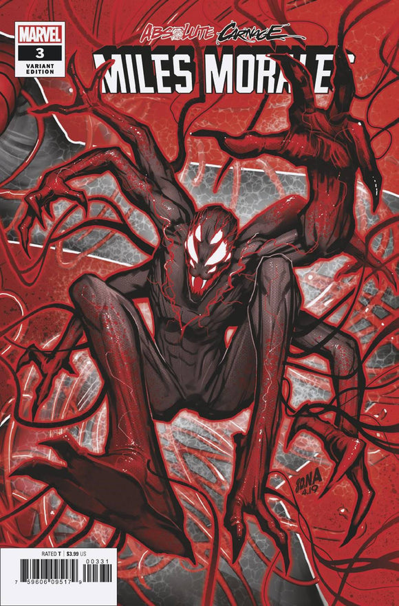 ABSOLUTE CARNAGE MILES MORALES #3 (OF 3) NAKAYAMA CONNECTING BACKISSUE