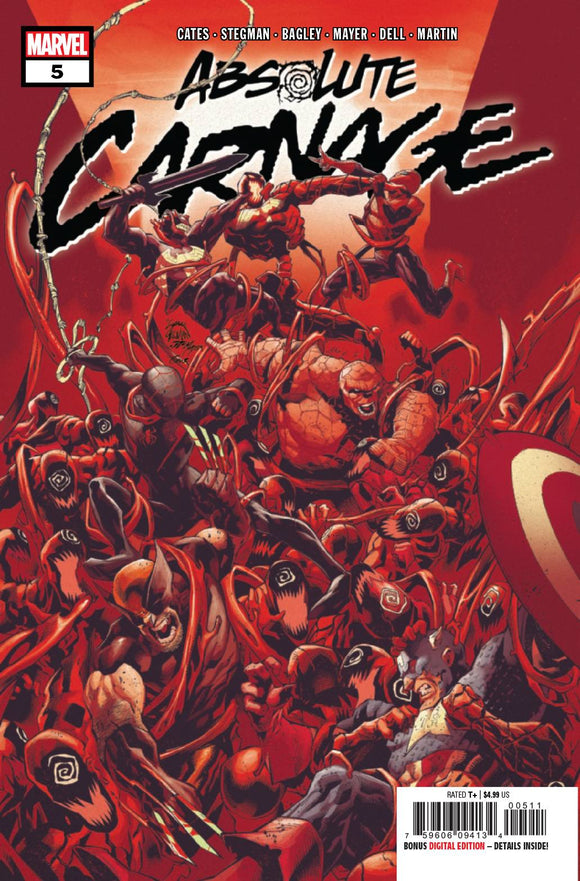 ABSOLUTE CARNAGE #5 (OF 5) AC BACKISSUE