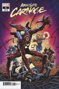 ABSOLUTE CARNAGE #5 (OF 5) RON LIM VAR AC BACKISSUE