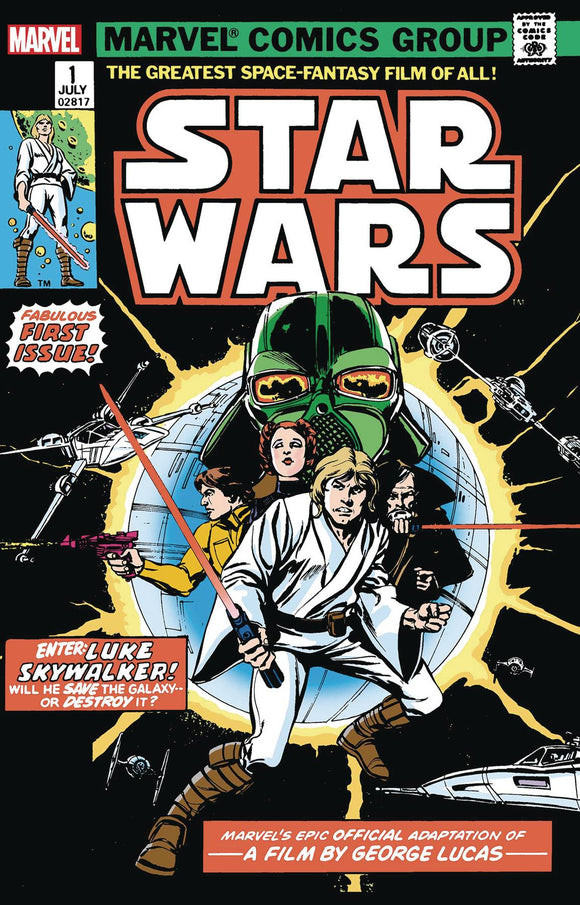 STAR WARS #1 FACSIMILE EDITION (02/07/2021) BACKISSUE