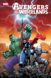 AVENGERS OF THE WASTELANDS #1 (OF 5) BACKISSUE