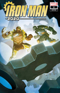 IRON MAN 2020 #2 (OF 6) DEL MUNDO VAR 1:25 BACKISSUE
