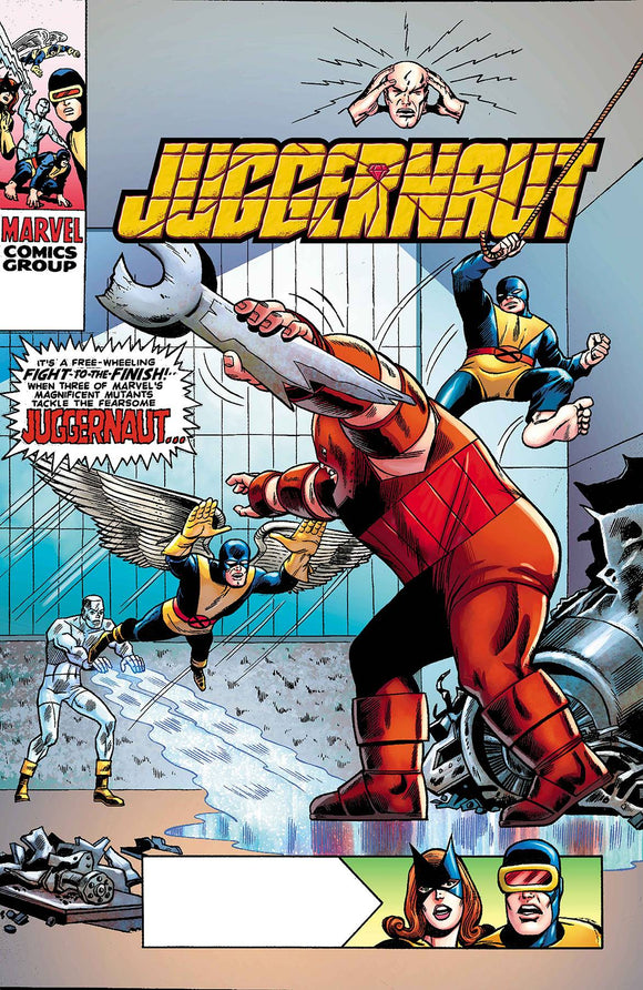 JUGGERNAUT #1 (OF 5) ROTH HIDDEN GEM VAR DX 1:100 09/23/2020