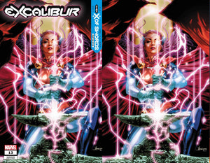 EXCALIBUR #13 JAY ANACLETO UNKNOWN EXCLUSIVE VAR XOS BUNDLE (10/21/2020) 2-PACK BACKISSUE
