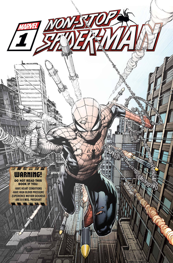 NON-STOP SPIDER-MAN #1 PREMIERE VAR (03/03/2021) DELAYED 3/10/21 BACKISSUE