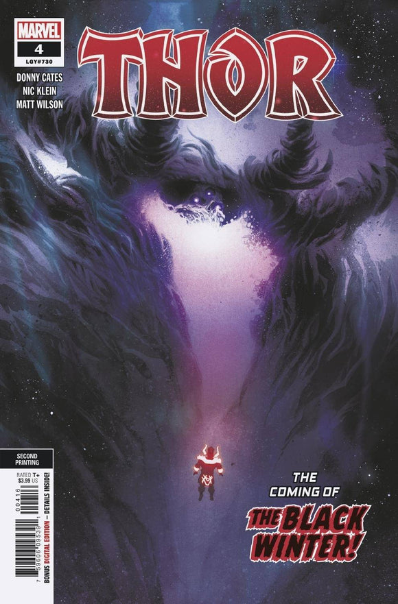 THOR #4 2ND PTG COPIEL VAR (08/05/2020) BACKISSUE