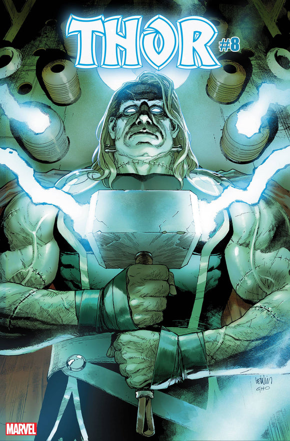 THOR #8 FRANKENSTEINS THOR HORROR VAR (10/07/20) BACKISSUE