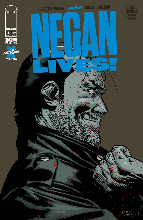 NEGAN LIVES #1 2ND PTG (MR) BACKISSUE