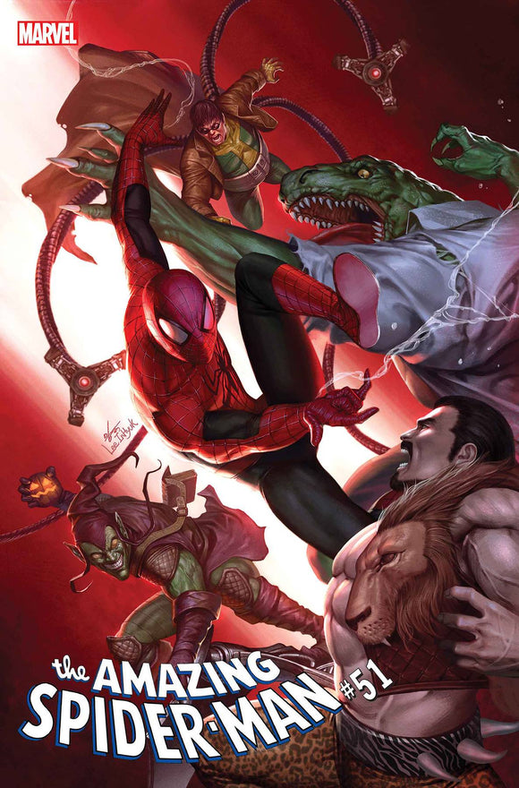 AMAZING SPIDER-MAN #51 INHYUK LEE VAR (10/21/2020) DELAYED (11/4/2020)