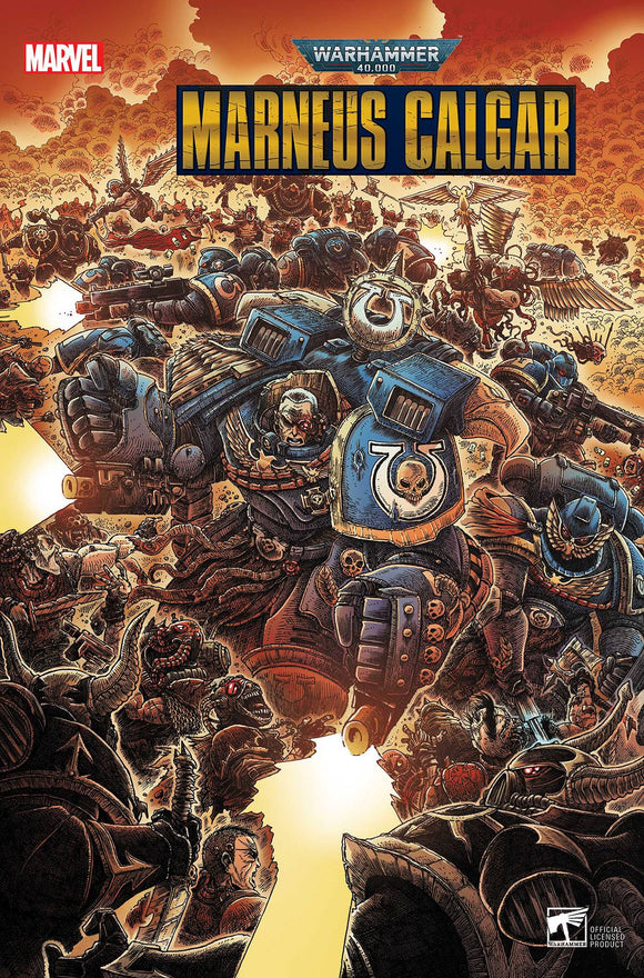 WARHAMMER 40K MARNEUS CALGAR #2 (OF 5) (11/11/20) BACKISSUE
