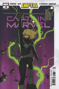 CAPTAIN MARVEL #18 2ND PTG MOLINA SKETCH VAR EMP 1:25 09/02/2020 BACKISSUE