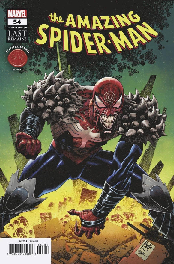 AMAZING SPIDER-MAN #54 SIQUERA KNULLIFIED VAR LR (12/09/2020) BACKISSUE