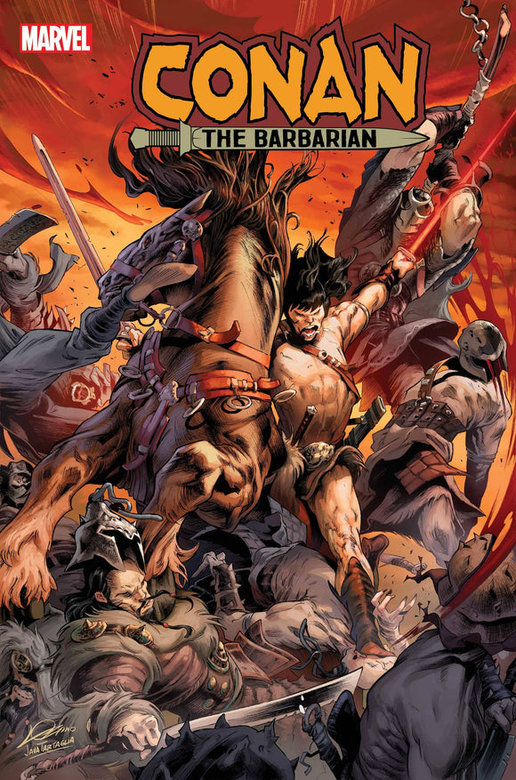 CONAN THE BARBARIAN #18 LOZANO VAR 1:25 (12/23/20) DELAYED (01/27/2021)