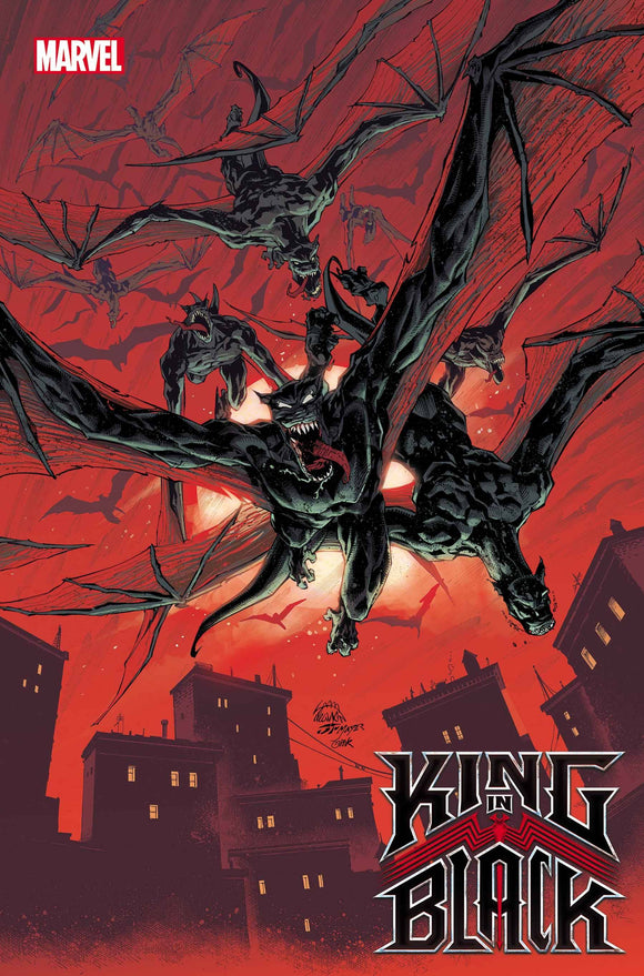 KING IN BLACK #1 (OF 5) STEGMAN DARKNESS REIGNS VAR (12/02/2020)