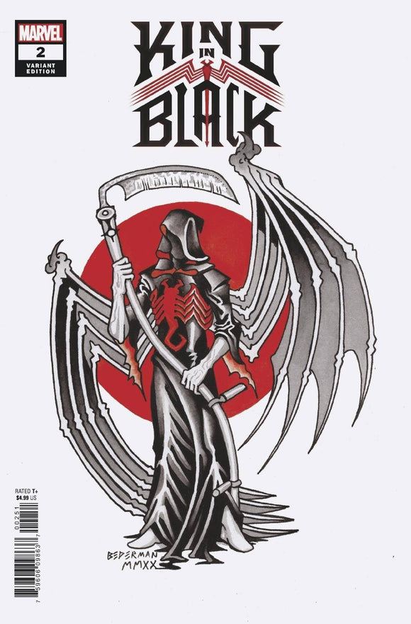 KING IN BLACK #2 (OF 5) BEDERMAN TATTOO VAR  (12/23/20) BACKISSUE