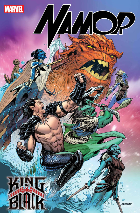 KING IN BLACK NAMOR #1 (OF 5) SMITH VAR (12/02/2020)