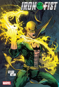 IRON FIST HEART OF DRAGON #1 (OF 6) (1/20/2021)