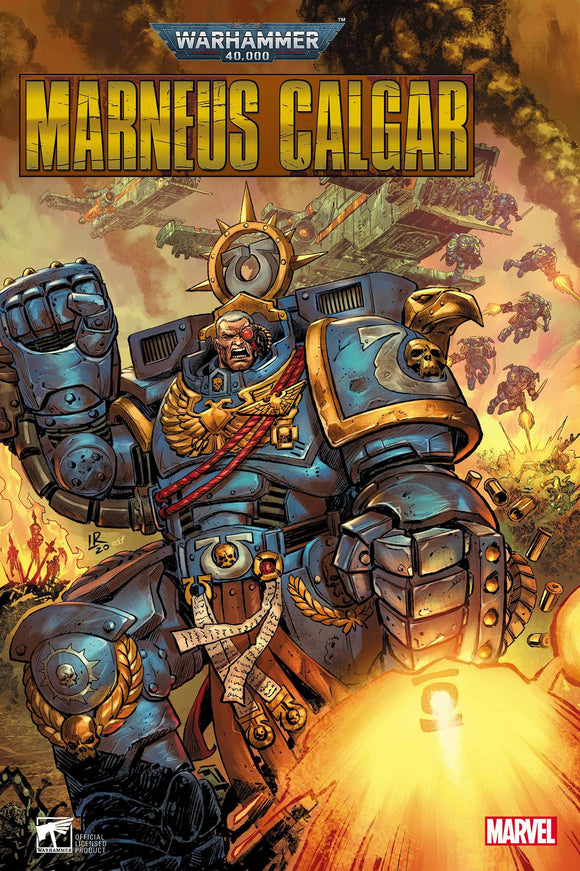 WARHAMMER 40K MARNEUS CALGAR #4 (OF 5) LUKE ROSS VAR (1/27/21) DELAYED 02/03/2021