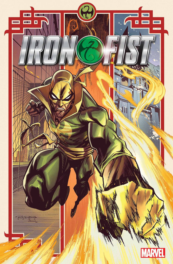 IRON FIST HEART OF DRAGON #1 (OF 6) RANDOLPH VAR 1:25 (1/20/2021)