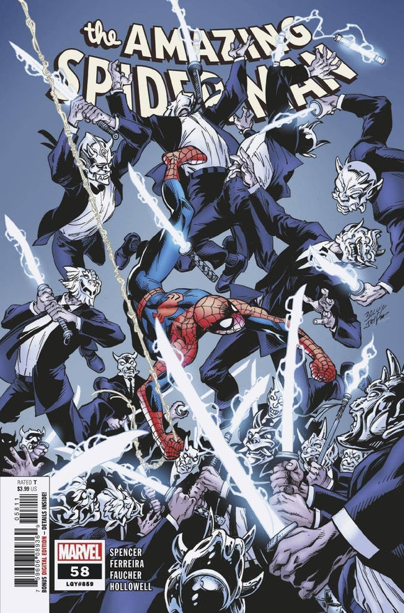 AMAZING SPIDER-MAN #58 (1/27/21) BACKISSUE