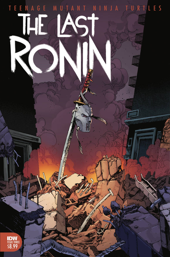 TMNT THE LAST RONIN #3 (OF 5) (3/3/2021) DELAYED 5/12/2021 DELAYED 5/26/2021