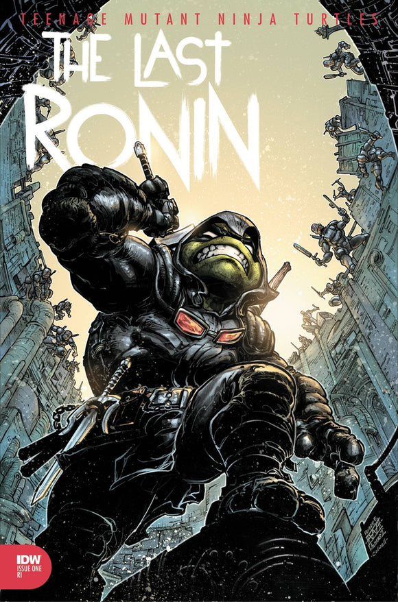 TMNT THE LAST RONIN #3 (OF 5) 10 COPY INCV FREDDIE WILLIAMS (3/3/2021) DELAYED 5/12/2021 DELAYED 5/26/2021