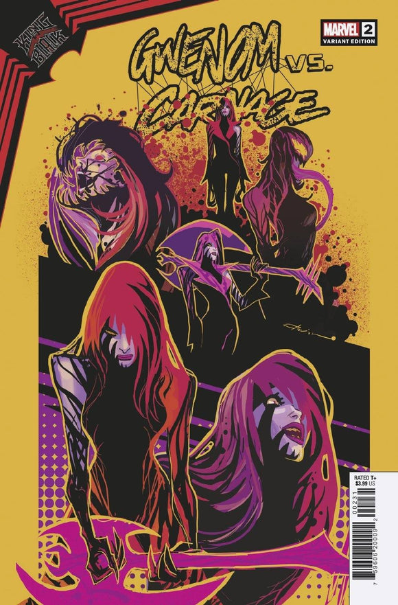 KING IN BLACK GWENOM VS CARNAGE #2 (OF 3) FLAVIANO DESIGN VAR 1:10 (2/3/2021) BACKISSUE