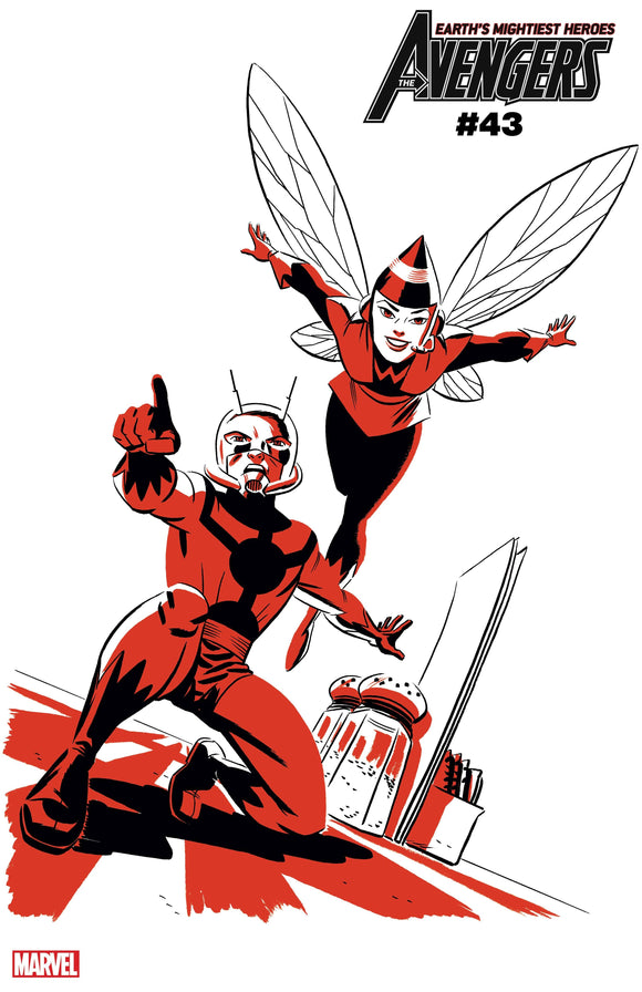 AVENGERS #43 ANT-MAN AND WASP TWO-TONE VAR (03/03/2021)