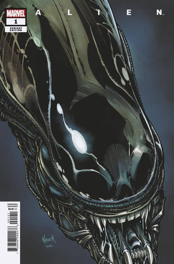 ALIEN #1 NAUCK HEADSHOT VAR (03/24/2021) BACKISSUE