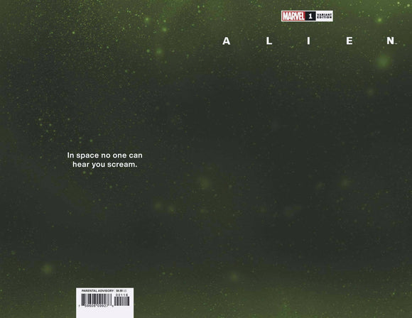 ALIEN #1 WRAPAROUND SPACE VAR 1:200 (03/24/2021) SHIPS DATE (04/14/21) BACKISSUE