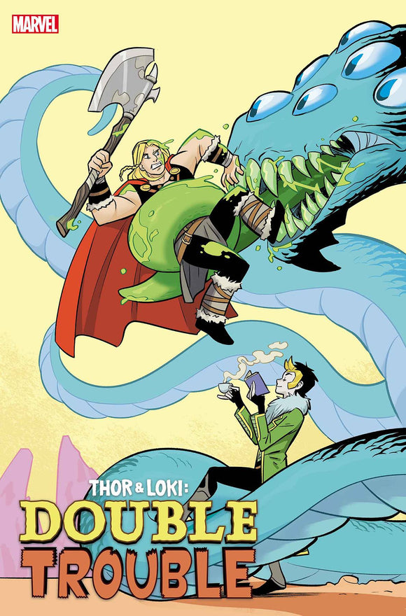 THOR AND LOKI DOUBLE TROUBLE #1 (OF 4) BUSTOS VAR 1:25 (3/10/2021)