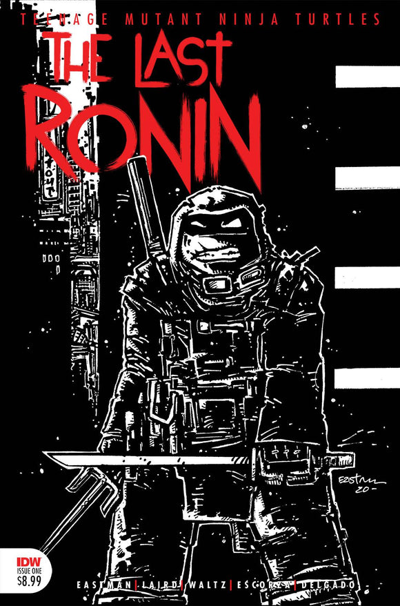 TMNT THE LAST RONIN #1 (OF 5) 3RD PTG (1/27/2021) (5/7/2021) BACKISSUE