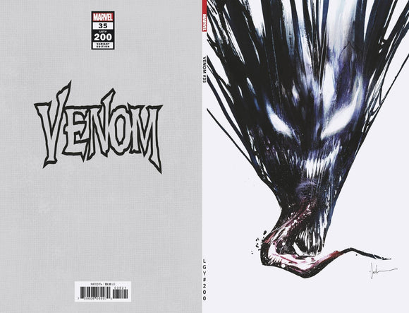VENOM #35 JOCK VIRGIN VAR 200TH ISSUE 1:500 (4/14/2021) DELAYED (06/09/2021)