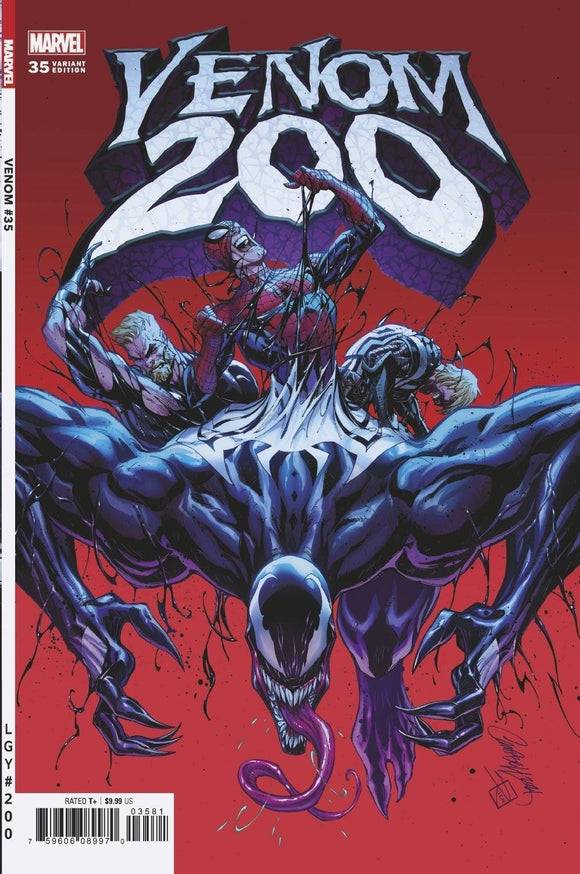 VENOM #35 JS CAMPBELL VAR 200TH ISSUE 1:50 (4/14/2021) DELAYED (06/09/2021)
