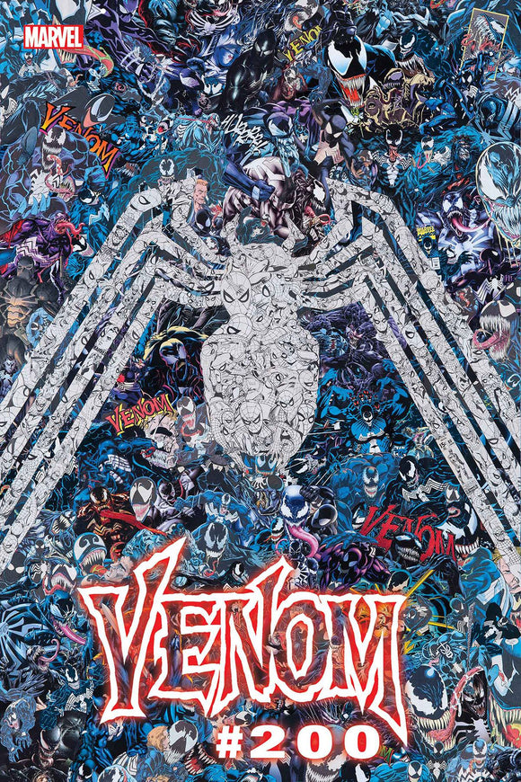 VENOM #35 MR GARCIN VAR 200TH ISSUE (4/14/2021) DELAYED (06/09/2021)