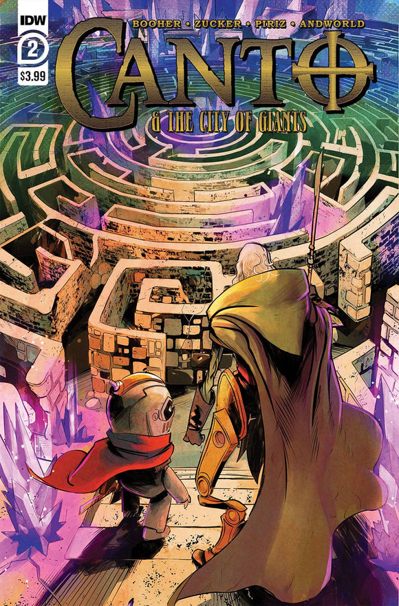 CANTO & CITY OF GIANTS #2 (OF 3) (5/12/2021) BACKISSUE