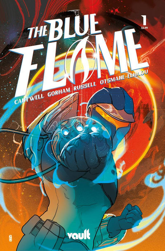 BLUE FLAME #1 CVR G 75 COPY FOIL EDITION VAR (5/26/2021)