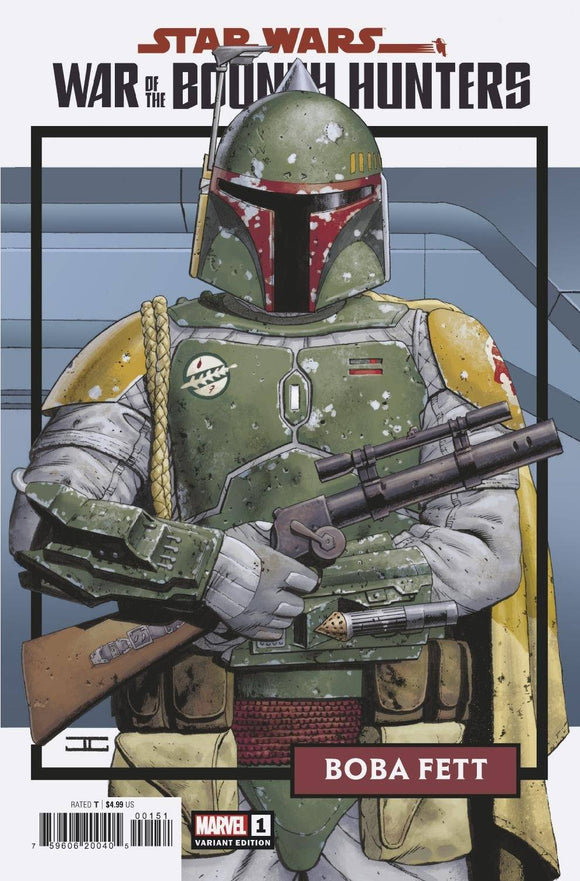 STAR WARS WAR BOUNTY HUNTERS #1 (OF 5) TRADING CARD VAR 1:25 (6/2/2021)