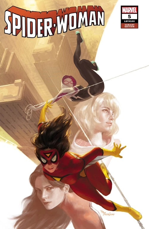 SPIDER-WOMAN #5 MIGUEL MERCADO UNKNOWN ILLUMINATI EXCLUSIVE (10/21/2020) BACKISSUE