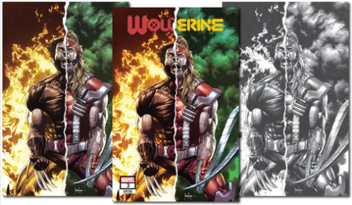 WOLVERINE #3 DX 3 PACK UNKNOWN COMICS MICO SUAYAN EXCLUSIVE BUNDLE (07/22/2020)